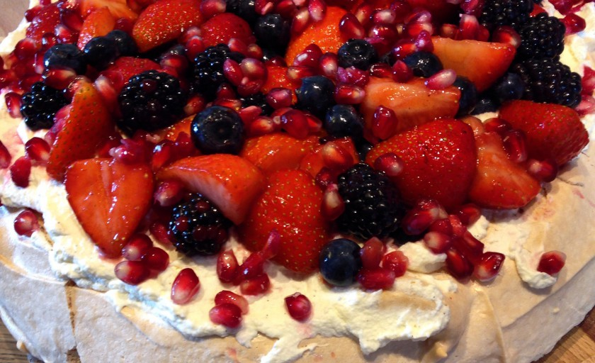 Classic Summer Berries Pavlova