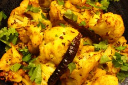 Spiced Roast Cauliflower