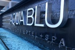 Review: Aqua Blu Boutique Hotel & Spa and Cuvée Restaurant