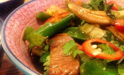 Chilli Beef Stir-Fry