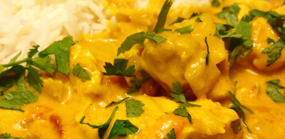 Creamy Chicken Korma