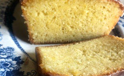 Orange & Sour Cream Cake