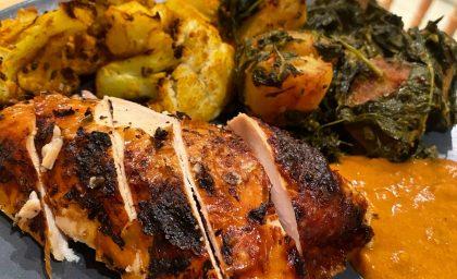 Indian Spiced Roast Chicken